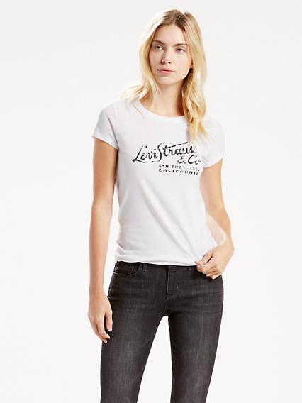 Slim Crewneck Tee Shirt