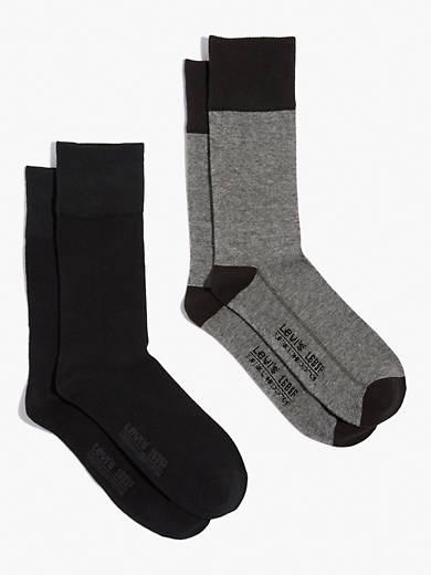 Levi's® 2-Pack Multi-Stripe Socks