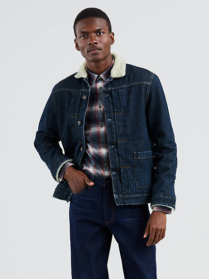 Levi's® Made & Crafted® Type II Sherpa Trucker Jacket