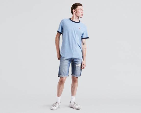809ea71deb40 501® Original Fit Cut-off Shorts - Medium Wash