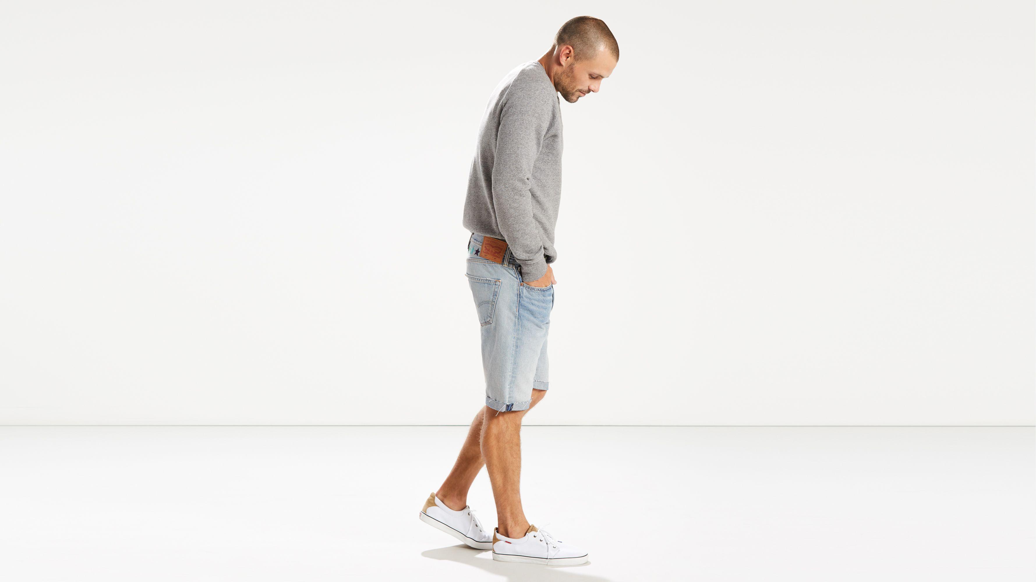 e91040fd6ff2 Levi s® Pride 501® Original Fit Cut-off Shorts - Light Wash
