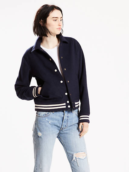 Christiane Varsity Jacket