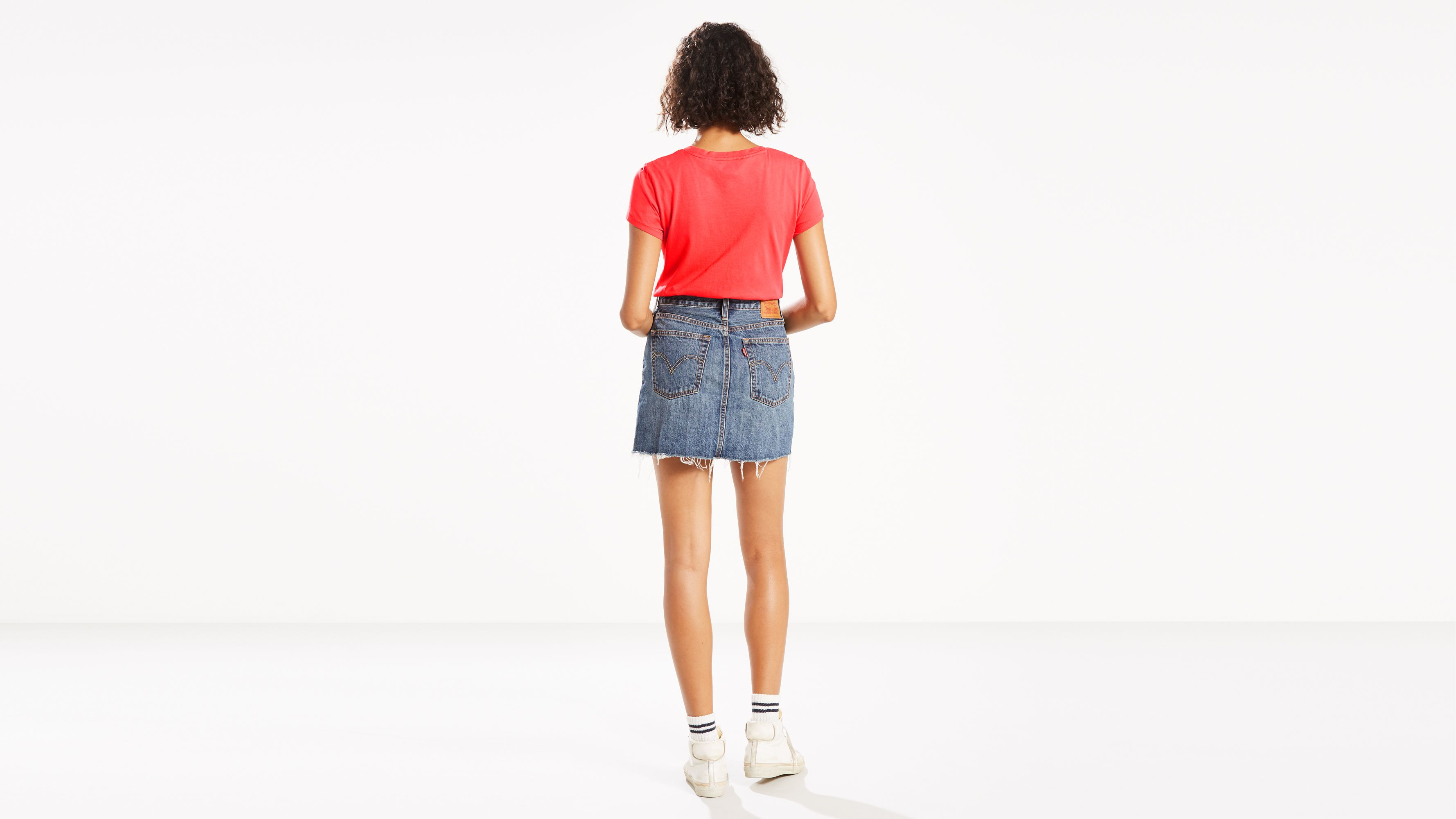 c533231ad Deconstructed Skirt - Medium Wash | Levi's® US