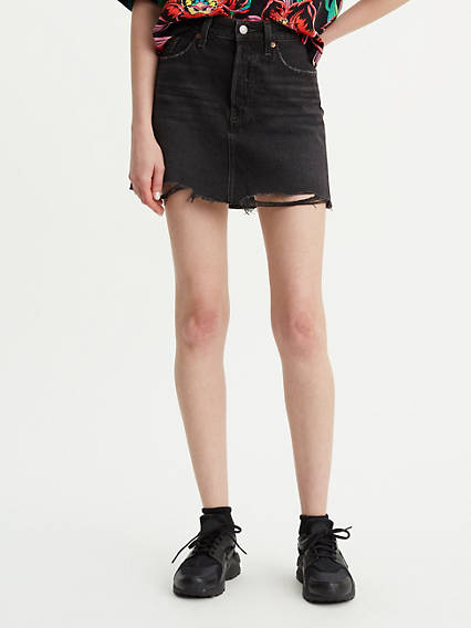 Deconstructed_Mini_Skirt__Schwarz__Ill_Fated