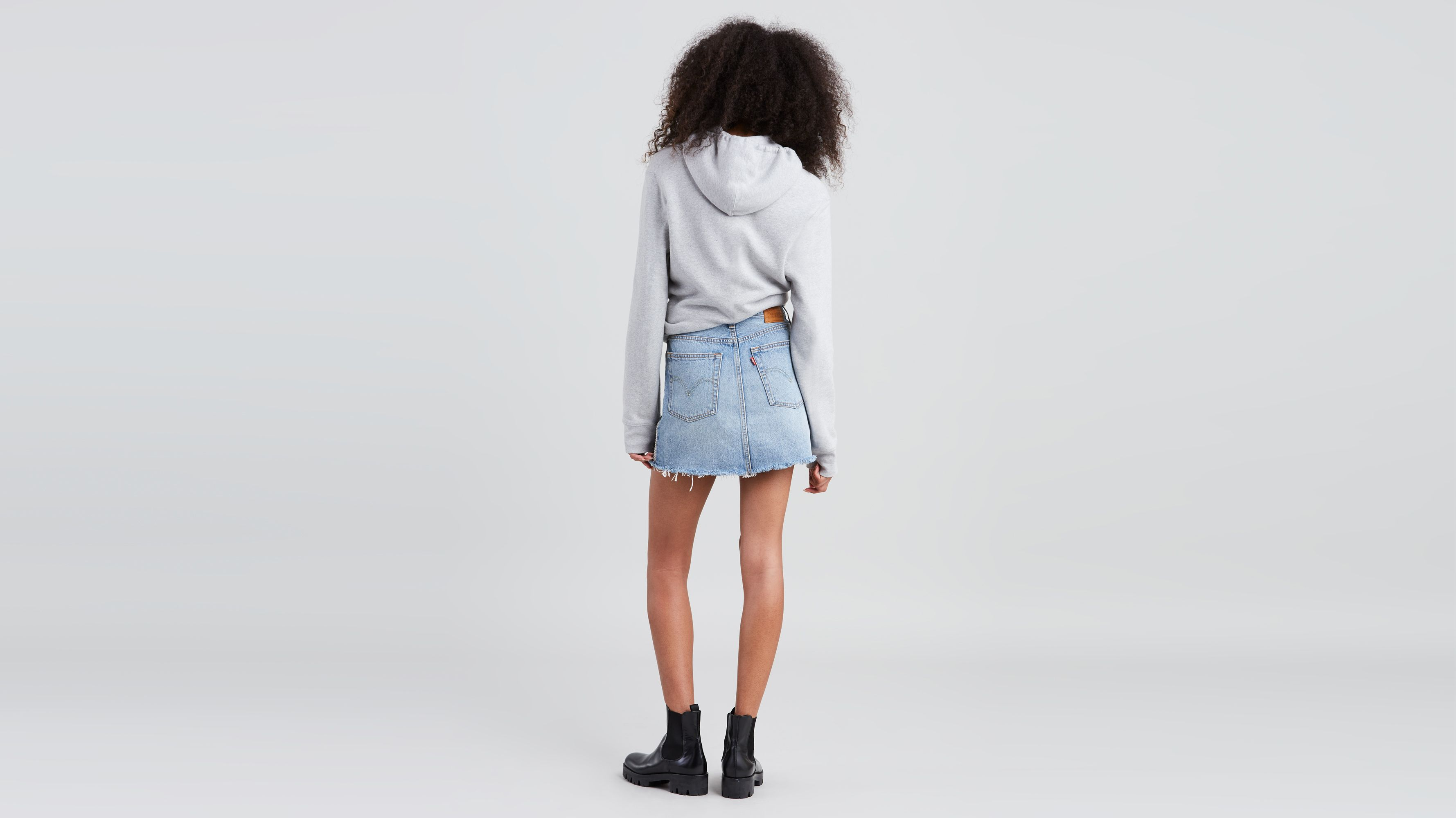 4401f69de Deconstructed Mini Skirt - Medium Wash | Levi's® US