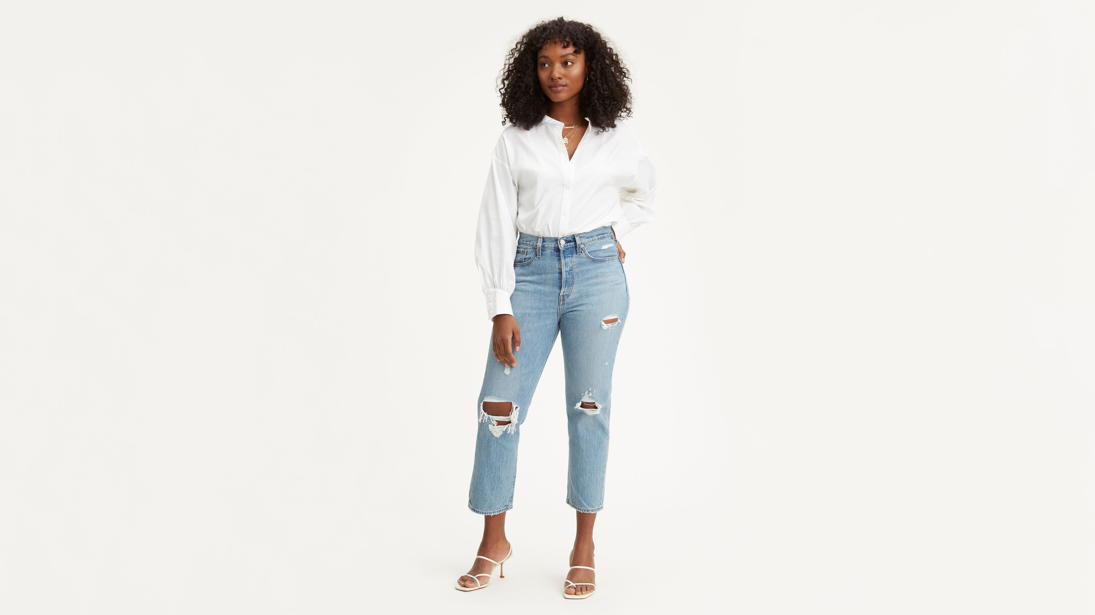 3be1a6d42aa1f0 Wedgie Fit Straight Jeans - Medium Wash | Levi's® CA