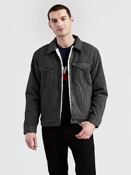 Levis jacke jeans herren
