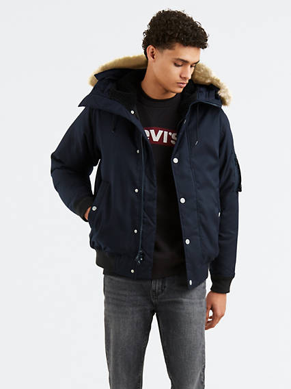 Down Davidson Bomber Jacket