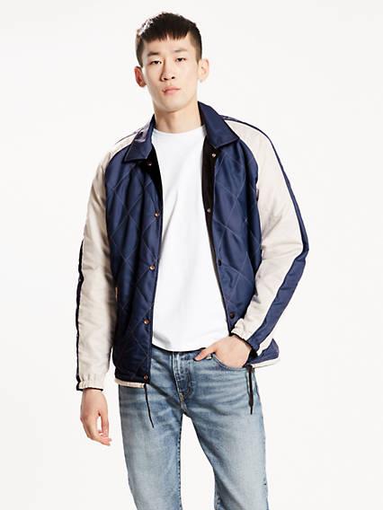 Reversible Souvenir Coach's Jacket