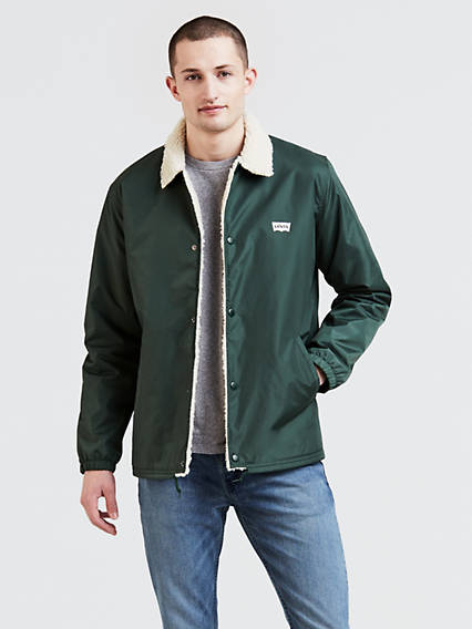 Sherpa Coach's Jacket