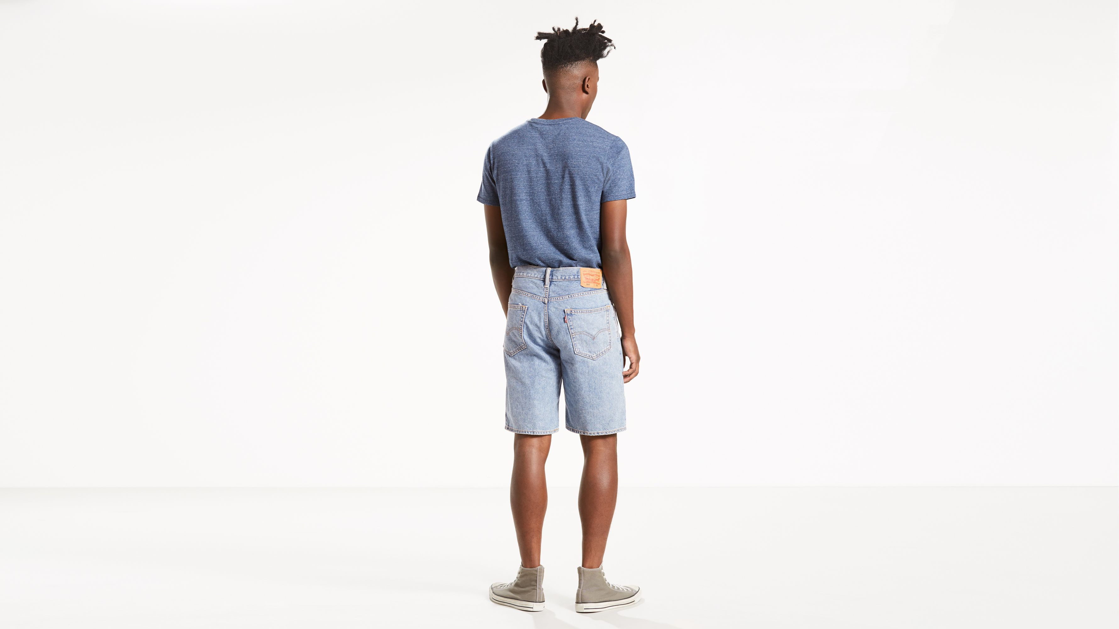 New Blac Label Denim Pieced Shorts $72 Size 44 46 48 50 52 54 56 Waist Fast Ship