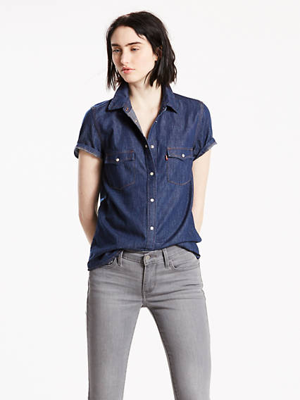 Shortsleeve Western Shirt