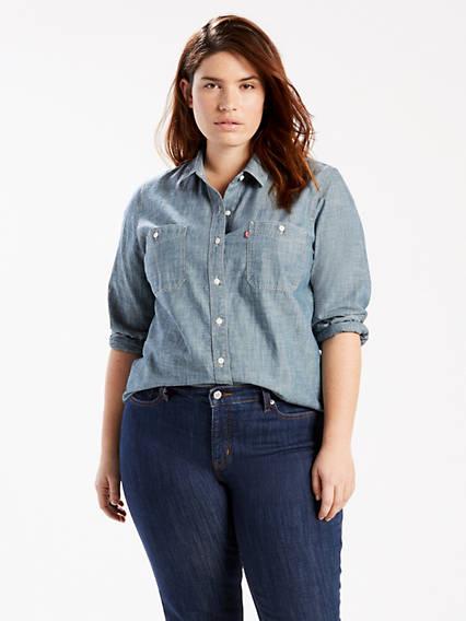 Boyfriend Shirt (Plus)
