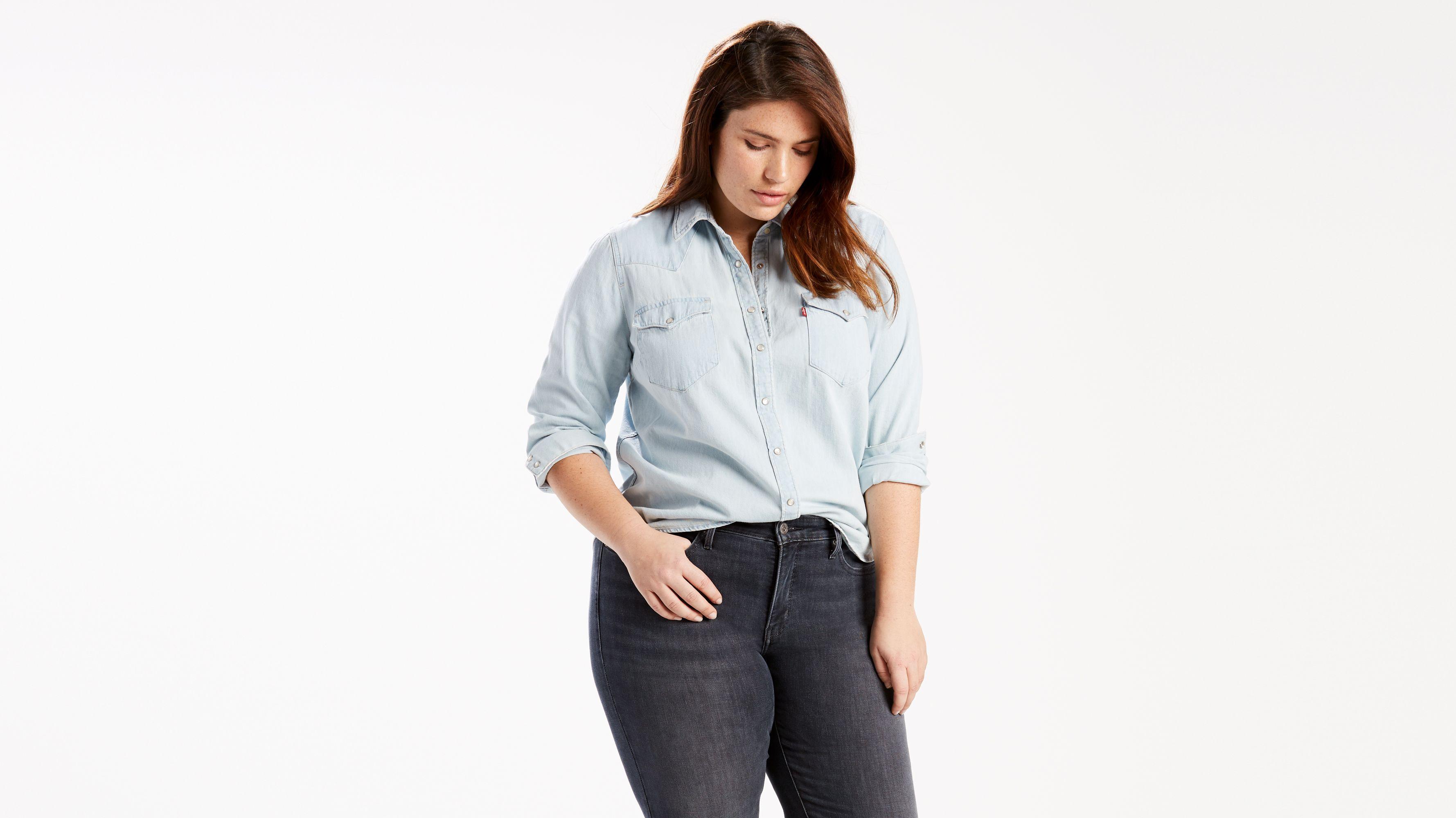 Western Shirt (plus Size) - Blue | Levi\'s® US