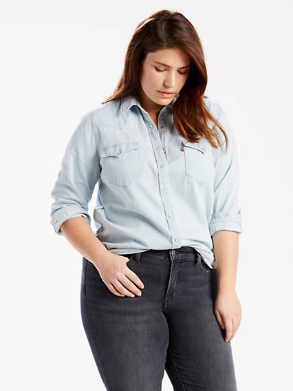 Western Shirt (Plus)