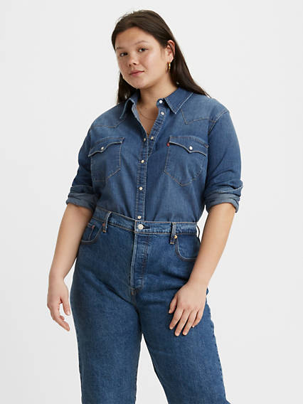 9ff1bab7790 Western Shirts for Women - Shop Denim Shirts