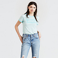 Levis.com deals on Levis Logo Ringer Tee Shirt for Womens