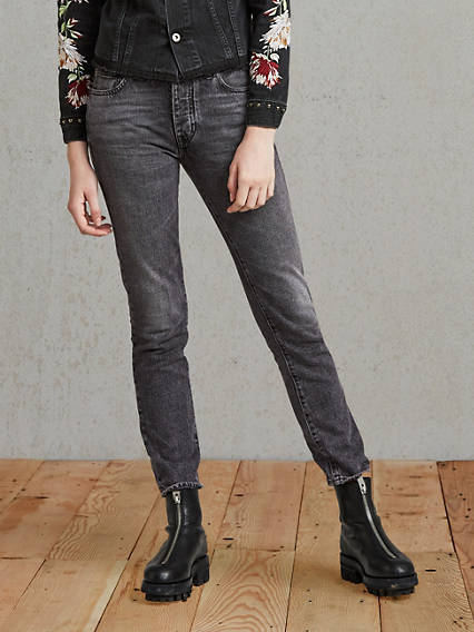 Twig High Rise Slim Jeans