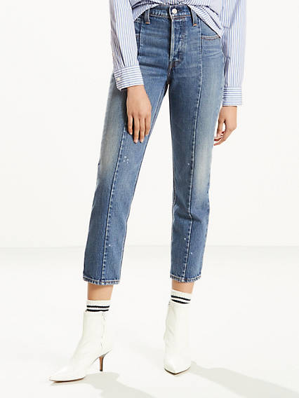 Altered Straight Leg Jeans