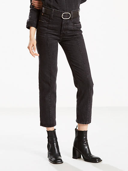 Altered Straight Jeans