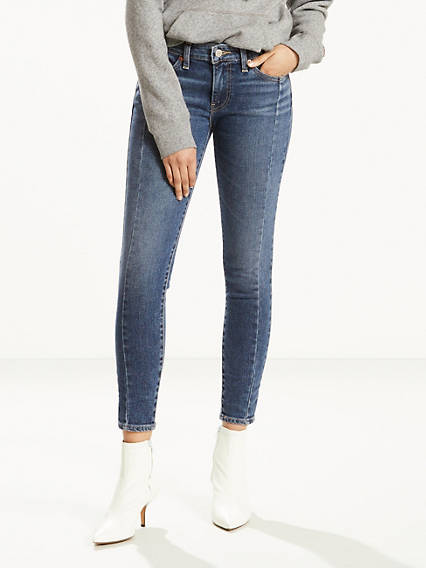 711 Seamed Skinny Jeans