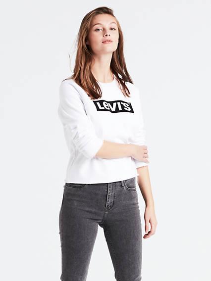 b7e1a775aeff Graphic Gym Crew Sweatshirt