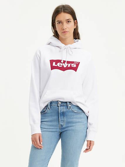 Levi's® Logo Sport Hoodie