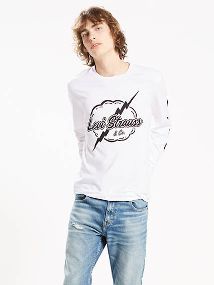 Levi's® Long Sleeve Graphic Tee
