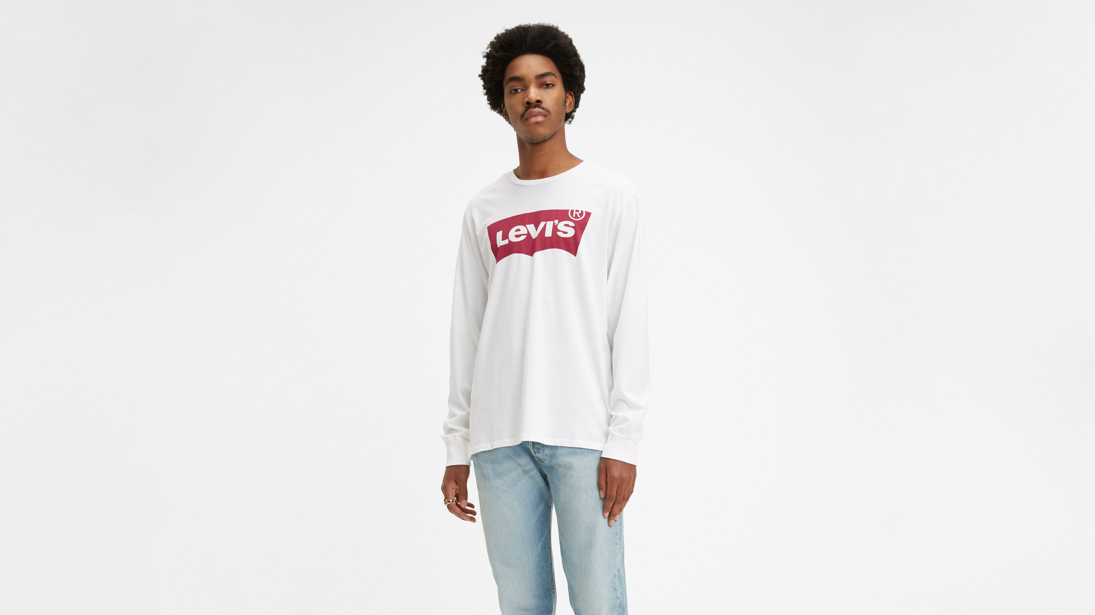 Levi's® Long Sleeve Logo Tee Shirt