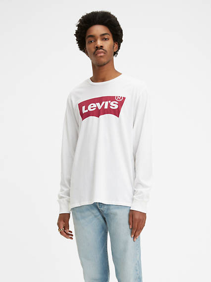 Levi's® Long Sleeve Logo Tee Shirt