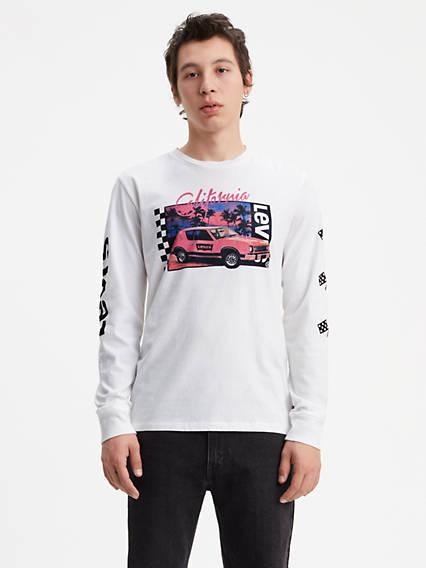 Long Sleeve Graphic Tee Shirt