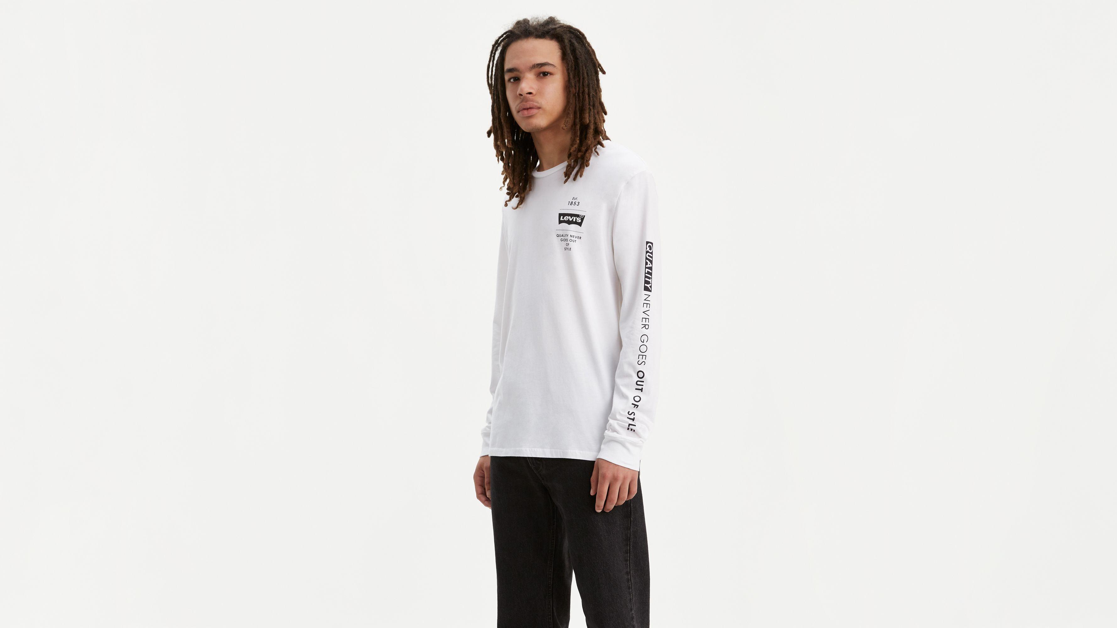 Levi's® Logo Long Sleeve Tee Shirt