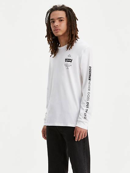 T-shirt à manche longue griffé Levi'sMD