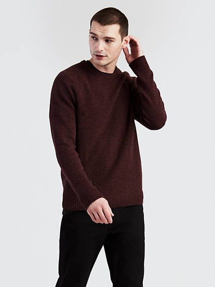 Ribbed Crew Sweater