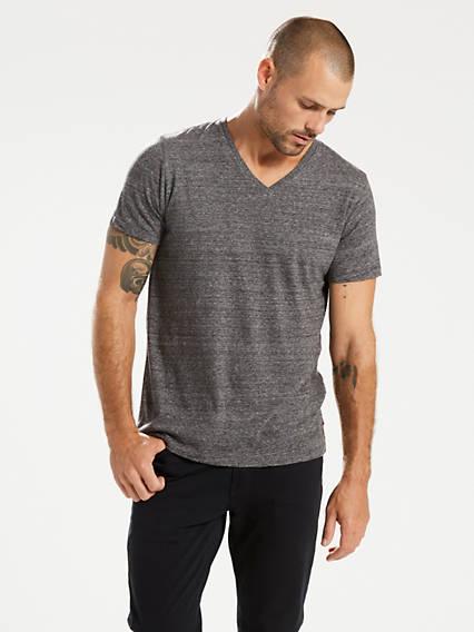 Classic V-Neck Tee Shirt