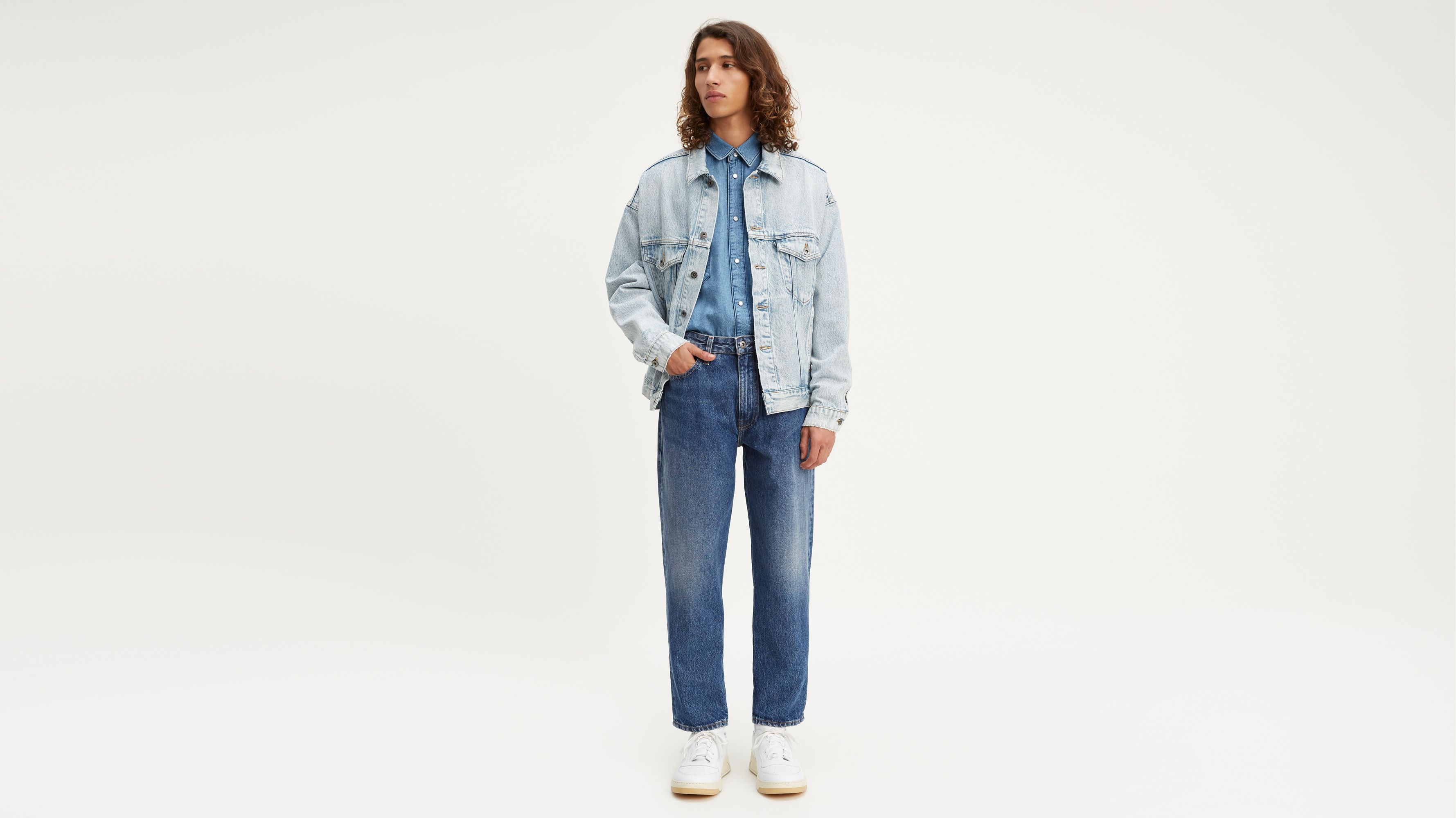 Levi's® Made & Crafted® Draft Taper Jeans Bleu | Levi's® FR