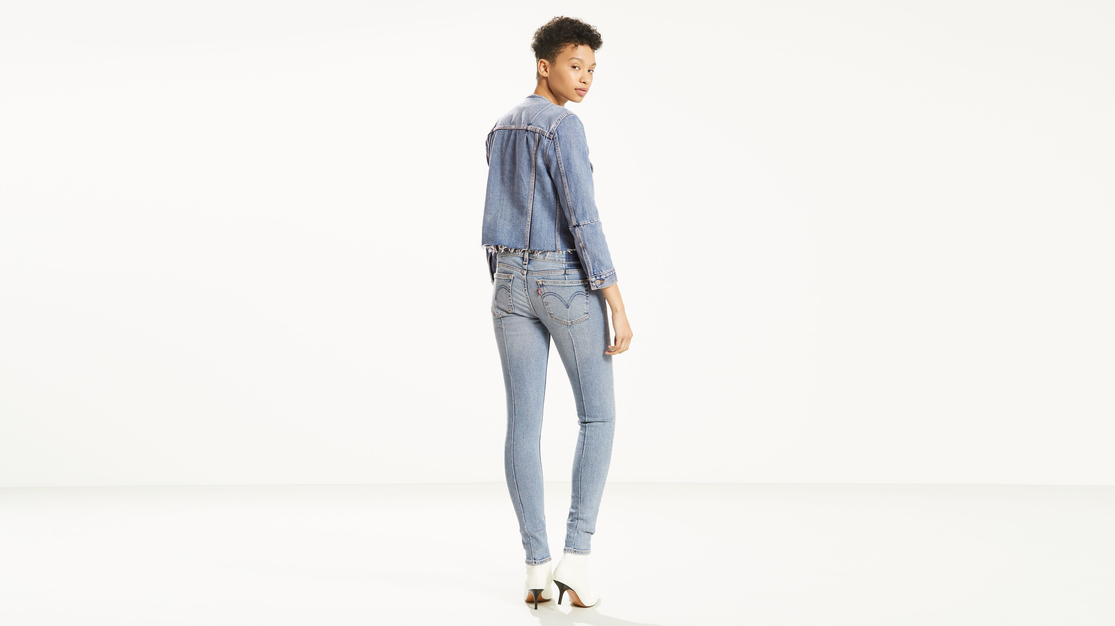 6cb50131 711 Altered Skinny Jeans - Light Wash | Levi's® US