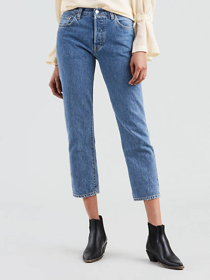 Levi's® Made & Crafted® 501® Crop Jeans