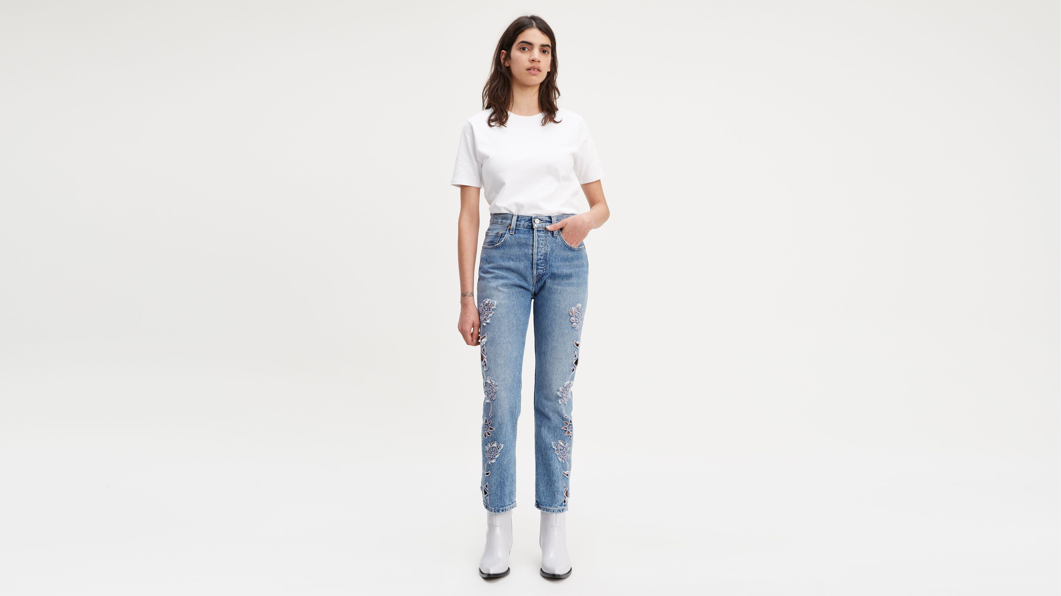 JeansRise High Uk Levi's Waisted Women's rodxeWCB