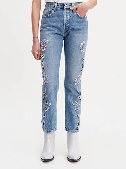 Levi's® Made & Crafted® 501® Original Fit Selvedge Crop Jeans