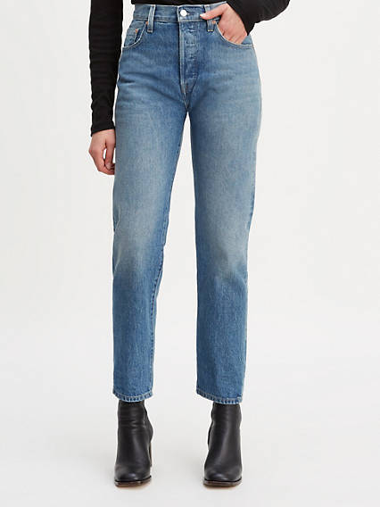 501® Original Fit Selvedge Crop Jeans