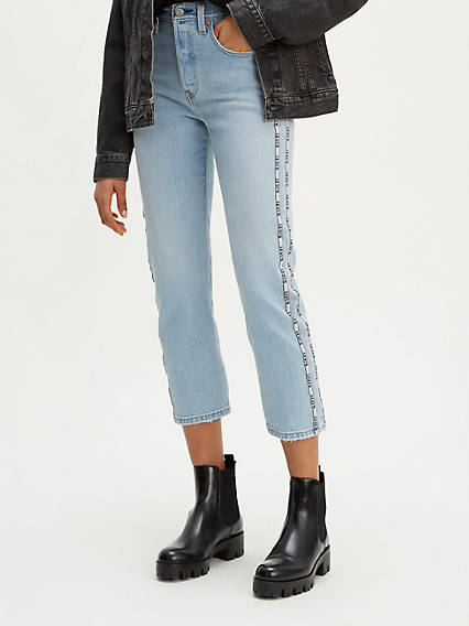 501® Original Sport Stripe Cropped Jeans