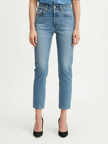 501® Original Cropped Stretch Jeans
