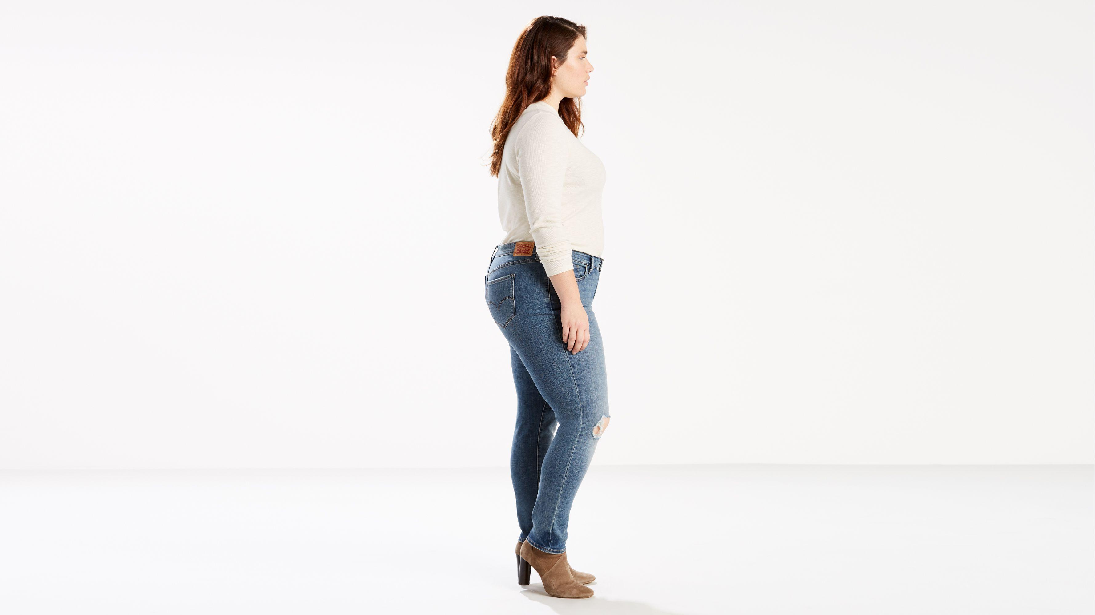22W MSRP $54.50 Women/'s Plus Size Levi/'s 711 Skinny Ankle Jeans Sizes 18W 20W