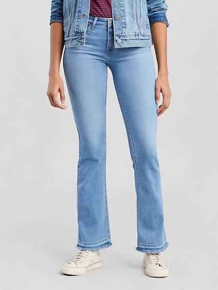 vollständige Palette von Spezifikationen Neues Produkt Neue Produkte Women's 715 Bootcut Stretch Jeans - | Levi's® US