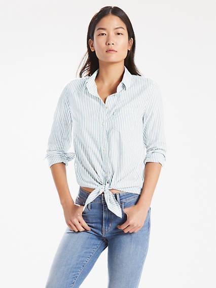 Liza Tie Shirt