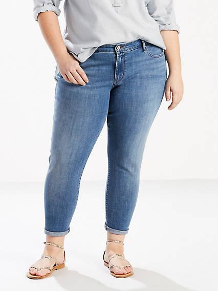 711 Skinny Ankle Jeans (Plus)