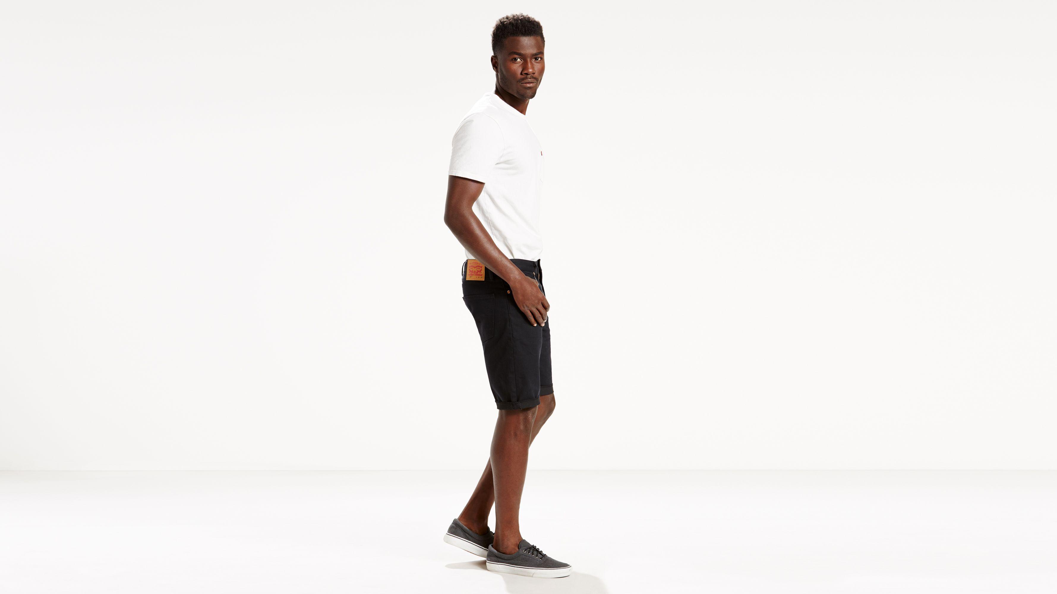 109e0192 511™ Slim Cut-off Shorts - Black | Levi's® US
