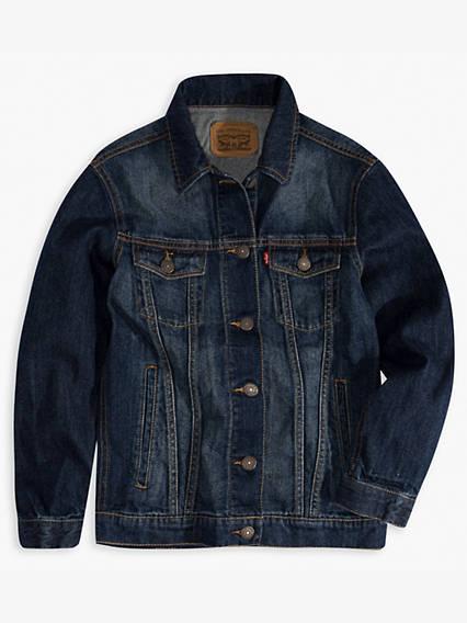 Little Girls Trucker Jacket