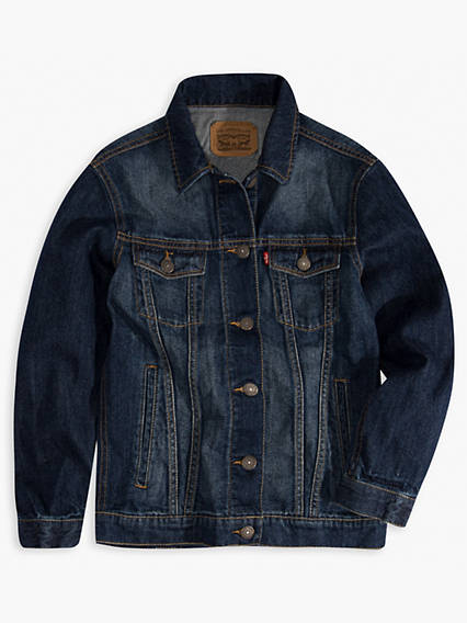 Big Girls Denim Trucker Jacket